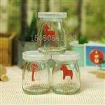 徐州|布丁杯耐高溫布丁奶瓶玻璃布丁瓶奶酪杯