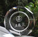 洛阳|洛阳礼品水晶烟灰缸广告logo烟灰缸赠品高档烟缸