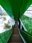 上海 彩釉鋼化樓梯扶手玻璃