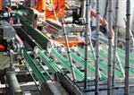 ITO导电膜玻璃切割磨边生产线