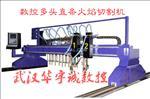 武汉|龙门式数控多头直条火焰切割机价格-生产厂家-报价多少钱一台
