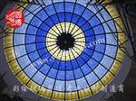 上海|手工定制彩色玻璃穹顶彩绘玻璃穹顶
