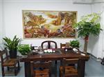 宣城2513理光uv5D浮雕画竹木纤维板打印机