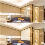 酒店浴室智能电控雾化玻璃