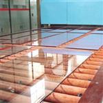 交道口安装钢化玻璃桌面