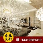 枣庄|简欧式浪漫玄关 艺术玻璃背景墙 创意室内玻璃隔断装饰艺术玻璃
