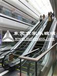 东莞扶梯玻璃厂家/钢化夹胶玻璃/高温油印玻璃