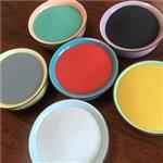 环氧彩砂美缝剂用烧结彩色玻璃微珠 填缝剂原料彩色玻璃微珠