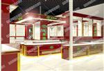 南京NJYOUTE商场展柜定制 南京玻璃展柜 精品展示柜制作