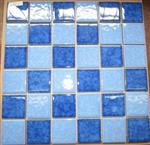 佛山|厂家供应 浅蓝色泳池浴室瓷砖 水池专用马赛克