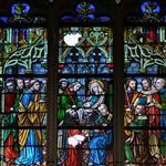 棗莊|供應5毫米吊頂彩窗教堂工藝玻璃