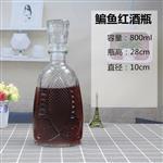 徐州|鳊魚玻璃紅酒瓶