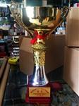 西安|西安厂家订做金属比赛奖杯批发 水晶奖杯做logo
