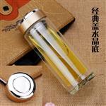 西安|西安双层玻璃杯印字透明玻璃杯刻字生产厂家