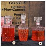 徐州|創意歐式威士忌洋酒酒樽水晶玻璃紅酒白酒酒壺高檔裝酒瓶小空瓶