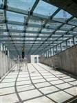 西安|西安玻璃幕墙雨篷采光顶玻璃地弹门车库雨篷观光电梯玻璃