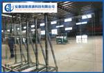 亳州 大板长方孔10mm钢化异形玻璃