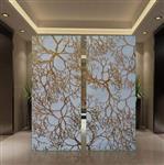 南昌|江西装饰夹胶玻璃 室内背景墙屏风玻璃 彩色艺术夹丝玻璃厂家定制