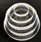 邯鄲 定制高強度鋼化觀察窗玻璃 機器儀表視察觀察窗玻璃