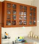 橱柜用欧式艺术玻璃