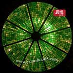 传统技艺教堂玻璃彩绘玻璃圆博工艺