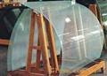 弯钢夹胶玻璃