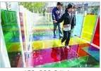 彩色PVB夹层玻璃中间莫