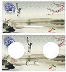 中国风(油烟机炉灶家电钢化玻璃)