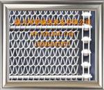 玻璃喷涂烘干机网带,链条式网带