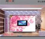 玻璃电视背景墙