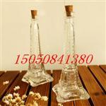 埃菲尔巴黎铁塔铁塔玻璃许愿瓶木塞玻璃瓶