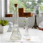 厂家直销巴黎埃菲尔铁塔许愿瓶木塞铁塔玻璃瓶