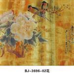 春色满圆3696-2花夹层艺术玻璃材料