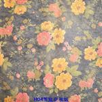 H04黑底花和纸超低价夹丝夹娟材料