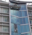 广州海珠区高空幕墙玻璃安装更换
