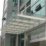 广州夹胶玻璃雨棚