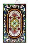 供应镶嵌玻璃/特种双弧钢化玻璃/教堂玻璃/杭州圆爵装饰