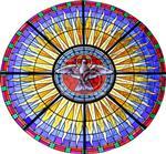 彩色玻璃 教堂玻璃 镶嵌玻璃 欧式仿古砖穹顶玻璃