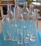 墨绿色橄榄油瓶 深棕色玻璃瓶