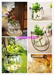 兰花挂件玻璃瓶