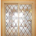 木门镶嵌玻璃