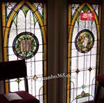 教堂玻璃圆博工艺