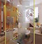 蒙砂玻璃,艺术玻璃,青岛艺术玻璃,工艺玻璃