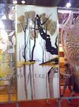 供应各类工艺玻璃,雕花上彩肌理纹