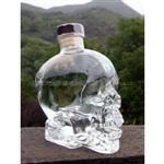 骷髅玻璃瓶洋酒瓶