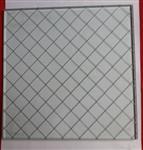 菱形夹丝玻璃