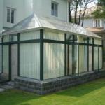 智能阳光房玻璃