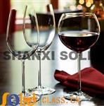 High Clear Wine Glass