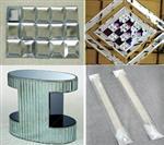 水晶玻璃隔条,水晶腰带,水晶三角条必备磨边机