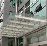 天津玻璃雨棚   天津制作玻璃雨棚